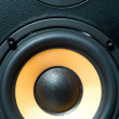 Stock Photo: Audio system equipment - speaker close up view