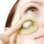 Fruity Face Treatment — Stock Photo