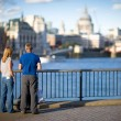 Thames embankment - Stock Photo