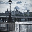 London scenery - Stock Photo