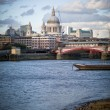 Thames embankment — Stock Photo #10958108