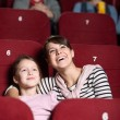 Young girl in the movie — Stock Photo #10959626