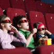 Stock Photo: Toddlers in movie