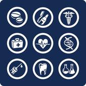 Medicine and Healthcare (p.2) — Stock Vector