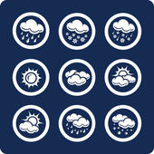 Weather icons (p.1) — Stock Vector