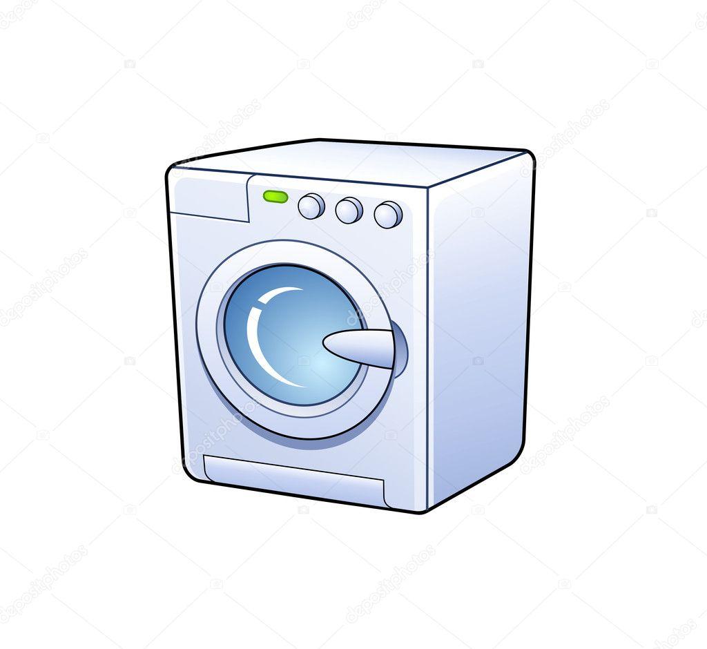 waschmaschine symbol stockvektor agencyby 10960734. Black Bedroom Furniture Sets. Home Design Ideas