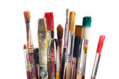 Set of paintbrushes — 图库照片