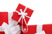 Boxes with presents — Stock Photo