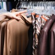 Royalty-Free Stock Photo: Choosing a piece of clothing