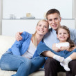 Nuclear family — Stock Photo
