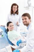Hazır carious diş tedavisi — Stok fotoğraf