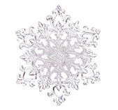 Snowflake shape — Stockfoto