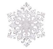 Snowflake shape — Stock Photo