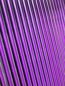 紫色玻璃管堆,太阳能电池板详细信息. — 图库照片