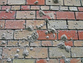 Abstract sand spots on brick wall, industry details. — Stock Photo