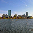 Boston cityscape, usa travel details — Stock Photo