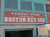 Fenway Park on April 20, 2012 in Boston, USA. — Zdjęcie stockowe