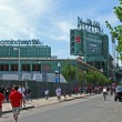 Stock Photo: Fenway Park in Boston is oldest professional sports venue in USA.