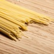 Spagetti on the desk. - Stock Photo