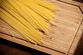 Spagetti on the desk. — Stock Photo