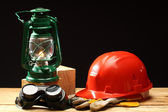 Safety gear — Foto Stock