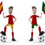 SPAIN VS PORTUGAL — Stock Photo #11363535