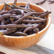 Red bean pods — Stock Photo