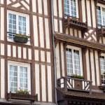 cidade de Honfleur, na Normandia - França — Foto Stock #10943822
