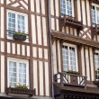 Honfleur city in Normandy - France — Stock Photo