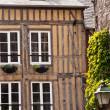 cidade de Honfleur, na Normandia - França — Foto Stock