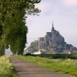 Mont saint-Michel in France - Stock Photo