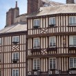 Honfleur city in Normandy - France — 图库照片