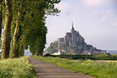 Mont saint-Michel in France — Stock Photo