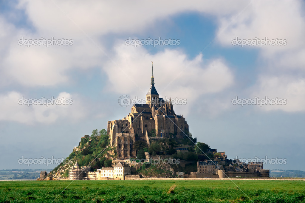 Mont saint-Michel in France   Stock Photo #10943995