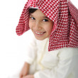 Arabic kid with traditional clothes — Stock Photo #11747342