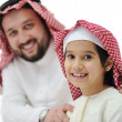 Happy father and son — Stock Photo #11747384