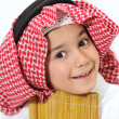 Royalty-Free Stock Photo: Cute Arabic little Kid