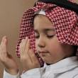Arabic Kid praying Doa — Stock Photo #11747601