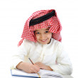 Little boy studying at school — Stock Photo #11747907