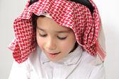 Niño árabe del medio oriente — Foto de Stock
