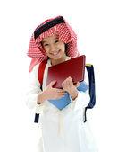 Mellanöstern skolan kid — Stockfoto