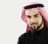 Modern arabic businessman — Stock Photo