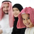 Royalty-Free Stock Photo: Arabic Muslim family