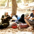 Royalty-Free Stock Photo: Arabic family on picnic in nature