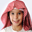 Arabic boy with toothbrush — Stock Photo #11751322