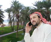 Arabic business man — Stock Photo