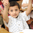 Stock Photo: Arabic kids in the school, classroom