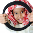 Happy arabic little boy — Stock Photo #12233555