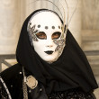 Venice Carnival Celebration Event in Saint Mark Square — Stock Photo #11555691