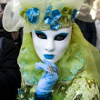 Venice Carnival Celebration Event in Saint Mark Square — Stock Photo #11555752